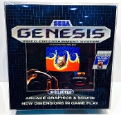 #9 Sega Genesis Model 1 Black Box  (1 Protector)   Read Please!