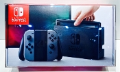 #13 Nintendo Switch Console ORIGINAL SIZE ONLY!  (1 Protector)