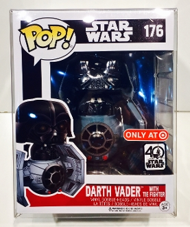 Funko Darth Vader With Tie Fighter Protector  (1 Protector)