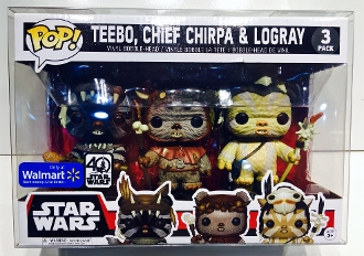Funko Walmart Small 3 Packs Ewoks, Cloud City, X-Wing   (3 Pack)