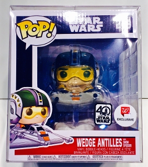 Funko Wedge Antilles With Snow Speeder Protector (1 Protector)