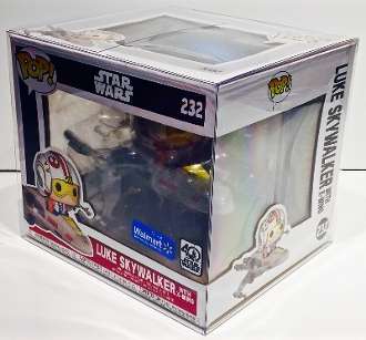Funko Luke With X-Wing Box Protector    (1 Protector)