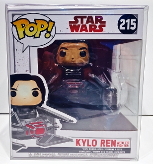 Funko Kylo Ren With Tie Fighter Box Protector    (1 Protector)