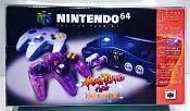 #22 N64 Atomic Purple Controller / Toys R US Gold  (1 Protector)
