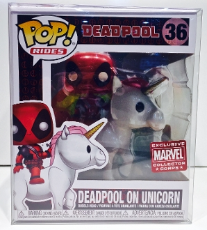 Funko Deadpool On Unicorn MCC Exclusive  (1 Protector)