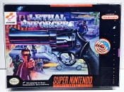 SNES Lethal Enforcers Box Protector  (1 Protector)