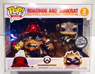 Funko Roadhog and Junkrat Box Protector  (1 Protector)