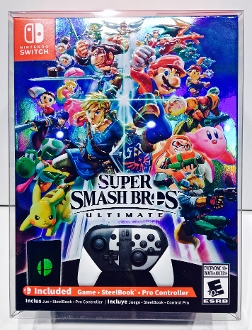 Switch Super Smash Bros Ultimate  (1 Protector)