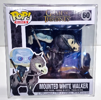 Funko  Mounted White Walker (G.O.T.)  Box Protector  (Qty 1)