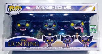 Funko Lion King Hyenas 3 pack Box Protector (1 Protector)