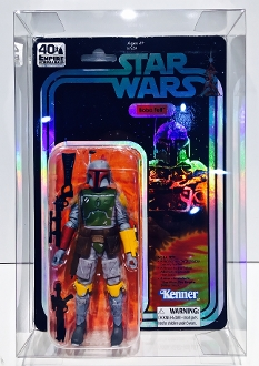 Star Wars 40th Anniversary 2019 SDCC BOBA FETT  (1 Protector)